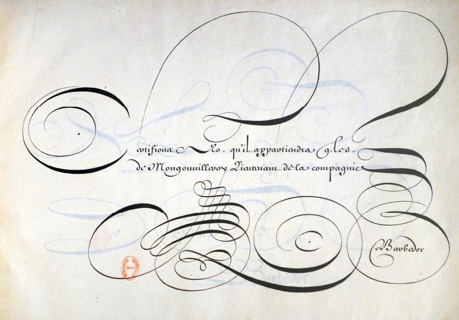 Conférence Lart Oublié De La Calligraphie Française 500 Livres